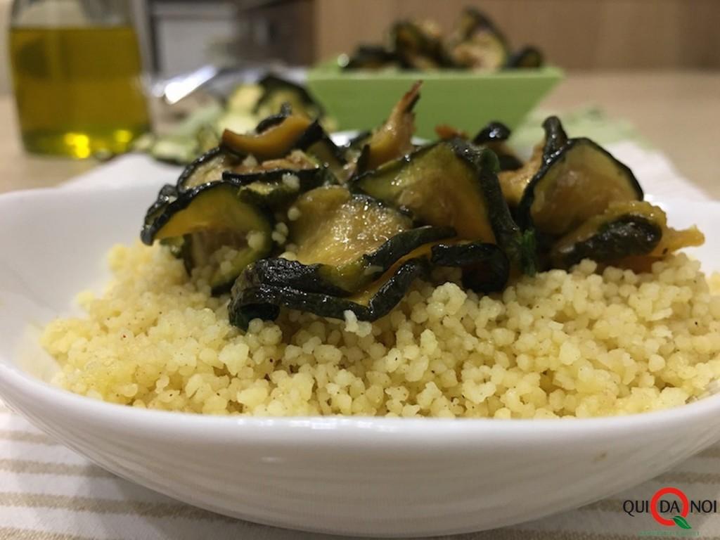cous cous cannella e zucchine